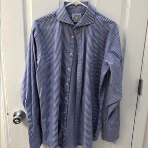 TM Lewin Slim Dress Shirt 16.5 33